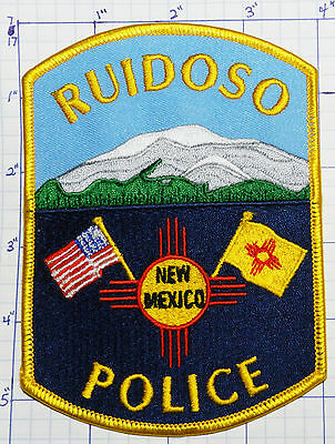 "New Mexico, Ruidoso Police Dept Mountain 5.5"" Patch"