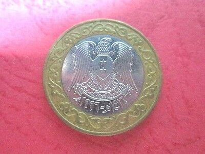 1996 Syria 25 Pounds coin Km#126