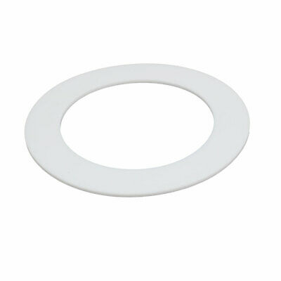 DN100 108mmx158mmx3mm PTFE Flat Washer Gasket White