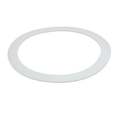 DN200 219mmx268mmx3mm PTFE Flat Washer Gasket White