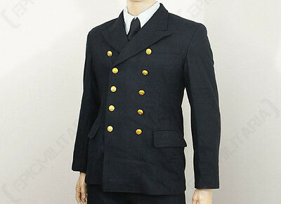 WW2 German Kriegsmarine Officer Wool Tunic - Repro Navy Sailor Shirt Top Jacket