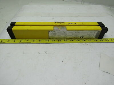 "A-B Allen Bradley 440L-R4B0300N POC-14 Safety Light Curtain Receiver 12"" height"
