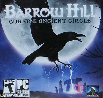 Barrow Hill: Curse of the Ancient Circle (PC) Puzzles, Archaic & Ancient Ruins!