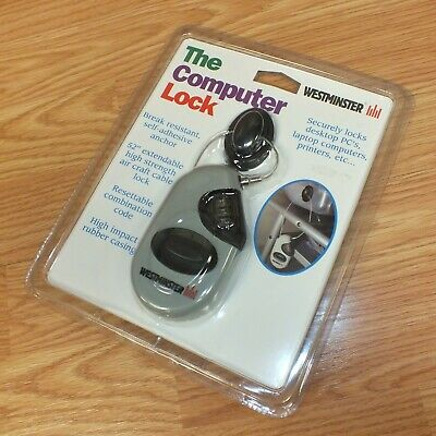 """Westminster (12800) 52"""" Extendable High Strength Air Craft Cable Computer Lock"""