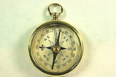 Antique Brass Compass Made in UK