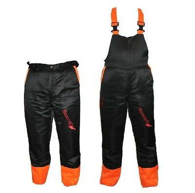 Chainsaw Safety Forestry Trousers Or Bib & Brace Ideal For Poulan Users
