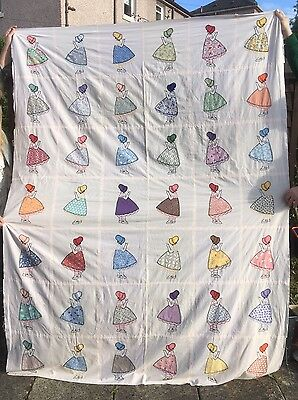 Amish Quilt Top Gorgeous Feminine 223cm x 162cm