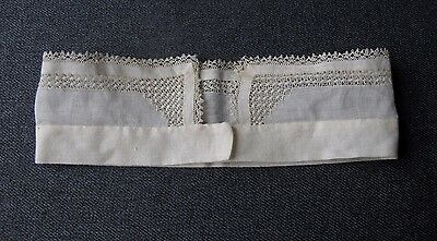 Antique Victorian Lace Linen Collar   Unused  8018C