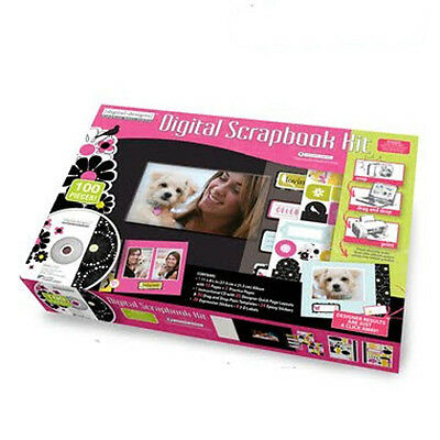 Westrim Digital Scrapbooking Kit, 140 pieces! NIB