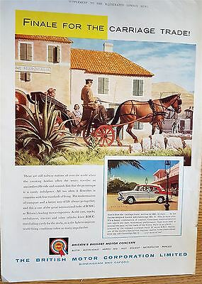 The British Motor Corporation Early Advertising Print