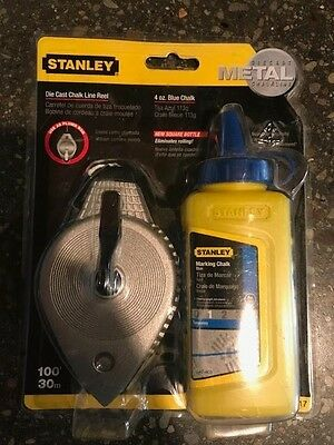 Stanley Die Cast Chalk Line and Chalk