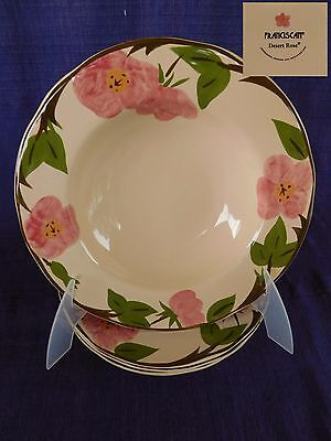 Desert Rose RIM SOUP BOWL 1 of 4 available have more Franciscan items CHINA