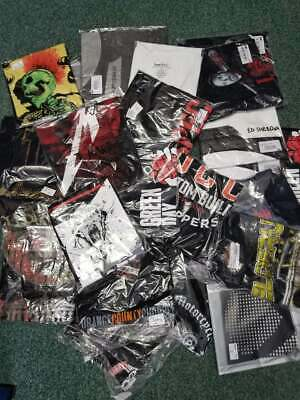 25 Wholesale Job Lot 25 OFFICIAL BAND Music TV Film  T SHIRTS #3