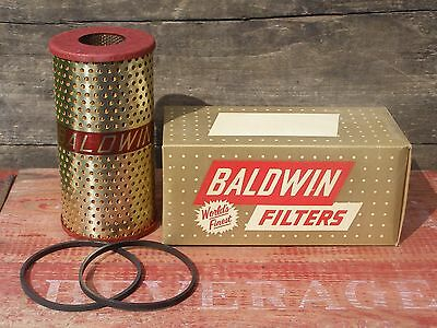 NOS Vintage Baldwin Oil Filter P-174 Replaces Purolator MF-26A MF-52A