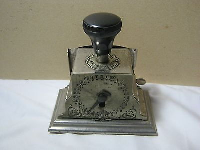 New Era Antique 1915 Office Check Writer Rare      T*