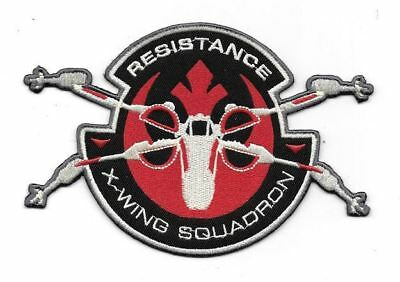 Star Wars The Force Awakens Movie Resistance X-Wing Squadron Embroidered Patch