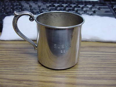 Sterling Newport Baby Cup #1626