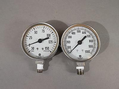 Mixed Lot of 2 Vintage US Gauge