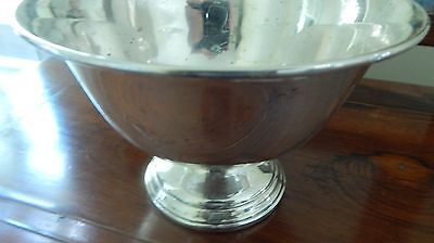 Antique/Vintage Sterling Silver Compote Bowl Footed Candy Dish Weighted