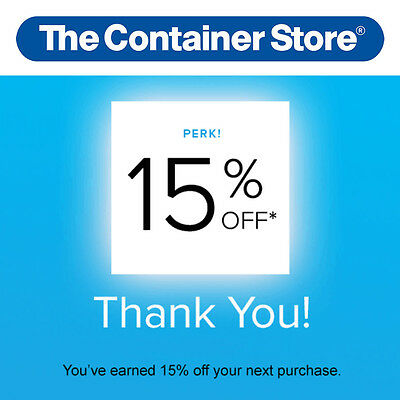 15% Off THE CONTAINER STORE Entire Order Promo Code 8/3/17 20 10