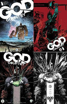 GOD COUNTRY #5 SPAWN MONTH VARIANT SET of4 NM DONNY CATES 1ST PRINT IMAGE COMICS