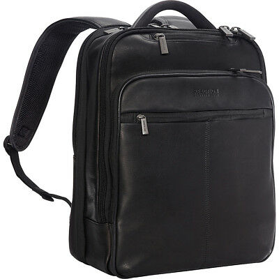 """Kenneth Cole Reaction The Manhattan 16"""" Colombian Business & Laptop Backpack NEW"""