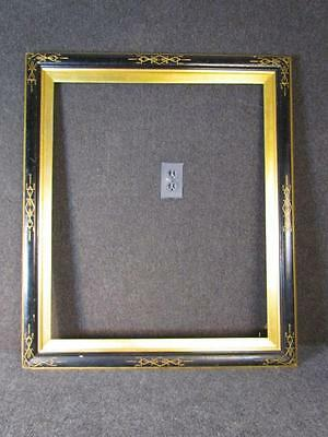 Antique American Victorian Eastlake Egyptian Revival Painting Frame, Fits 25X30