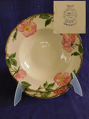 Desert Rose RIM SOUP BOWL 1 of 2 available have more Franciscan items USA