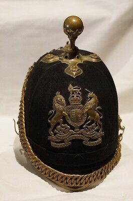 British Pre WW1 RAMC Medical Corps Officers Home Service Helmet