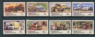1990 Christmas Island Transport Part II - MUH Complete Set