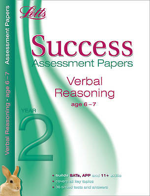 Letts Success Assessment Papers - Verbal Reasoning 6-7 Years, Alison Head | Pape