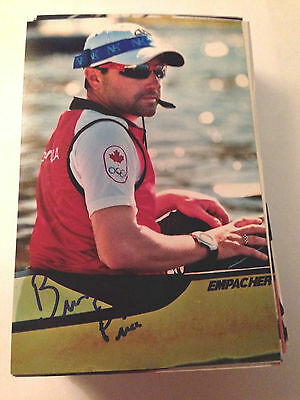 Brian Price SIGNED 4x6 photo TEAM CANADA Men's 8 ROWING / OLYMPICS GOLD MEDAL 3
