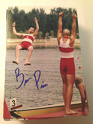 Brian Price SIGNED 4x6 photo TEAM CANADA Men's 8 ROWING / OLYMPICS GOLD MEDAL 4
