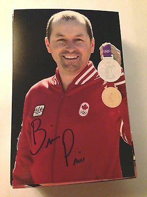 Brian Price SIGNED 4x6 photo TEAM CANADA Men's 8 ROWING / OLYMPICS GOLD MEDAL 5