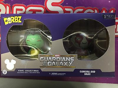 D23 Expo 2017 Dorbz 2 Pack Guardians of the Galaxy Gamora and Drax!