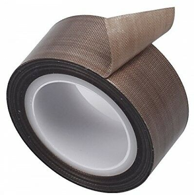 PTFE Coated Fiberglass Fabric With Silicone Adhesive Tape 13mmx10M