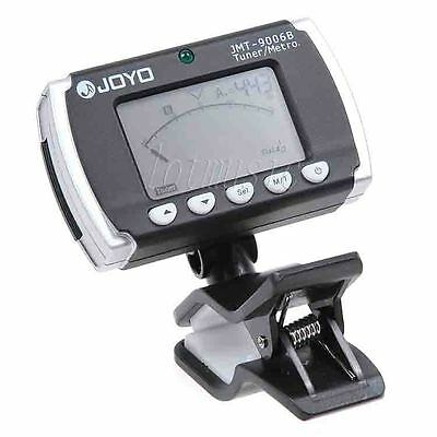 JOYO JMT-9006B 3-in-1 Auto Guitar Violin Bass Tuner Clip On Metronome