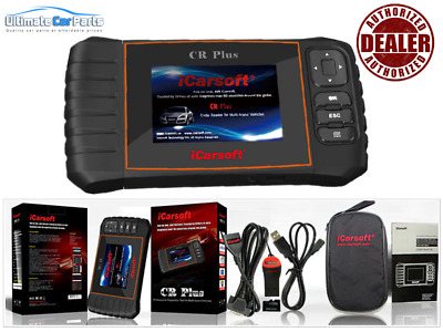 OBD2 II iCarsoft CR Plus UNIVERSAL ECU SRS ABS OIL SERVICE RESET DIAGNOSTIC TOOL