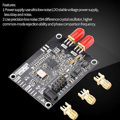 54M-13.6GHZ RF ADF5355 Phase-locked Loop Frequency Synthesizer Board VCO A1