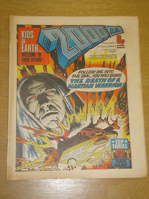 2000Ad #11 British Weekly Comic Judge Dredd May 1977 *