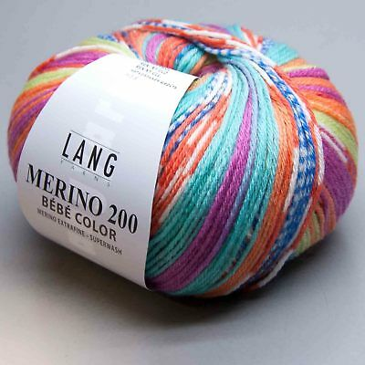 Lang Yarns Merino 200 Bebe Color 358