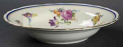 Aynsley CLARIDGE (COBALT BORDER) Rimmed Soup Bowl S21133G2