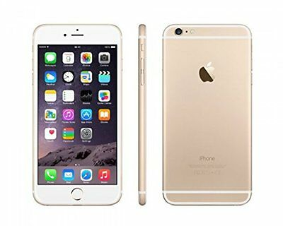 Apple iPhone 6 Plus A1524 64GB Mobile Phone Smartphone Gold White Unlocked