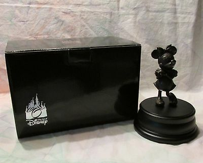 The Art of Disney Bronze Sculpture Statue Figurine Minnie Mouse NEW IN BOX
