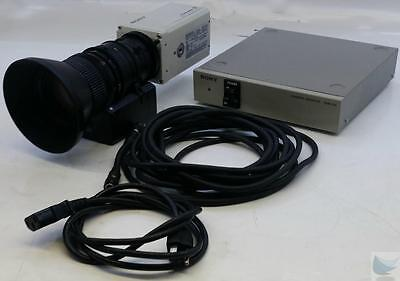 Sony DXC-990 Color 3 CCD Camera ExwaveHAD DSP Fujinon TV Zoom Lens with CMA D2