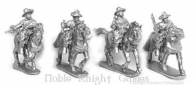 Old Glory Poncho Villa 25mm US Cavalry - Mounted w/Command Pack MINT