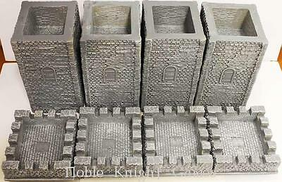 Blue Moon Epic Castles 28mm Square Tower Collection #1 NM