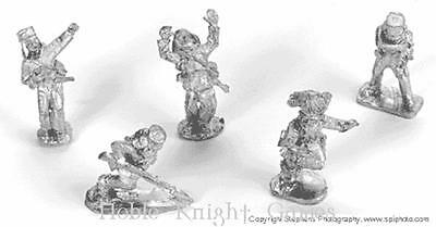 Old Glory Colonialism Indian Mutiny British 25m Falling Wounded Briti Pack MINT