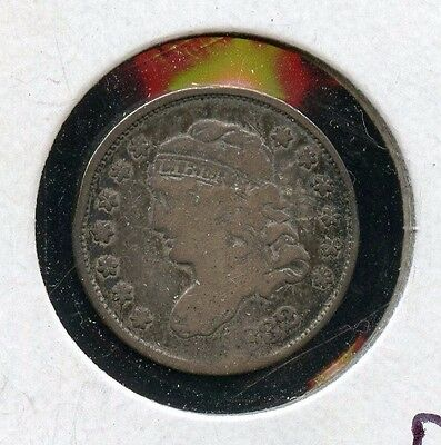 1832 United States Half Dime Capped Bust Silver 90% Fine Coin - JM019