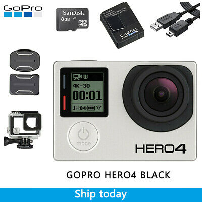 Gopro Hero 4 BLACK Edition 4K Action Camcorder CHDHX-401 Gold Limited Edition